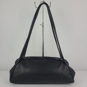 Derek Alexander Black Leather Purse